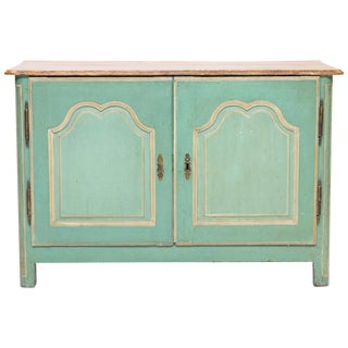 19th Century French Painted Buffet For Sale