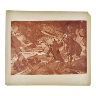 1899 Photogravure of William Leftwich Dodge's Der Freischütz Opera Painting For Sale