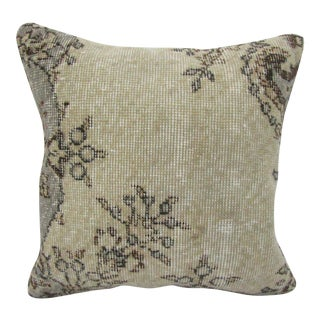 Vintage Turkish Handmade Decorative Pillow Cover For Sale