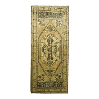 Vintage Anatolian, 1'9'' X 3'9'' For Sale