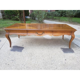 Vintage Drexel Heritage French Provincial Style Coffee Table Preview