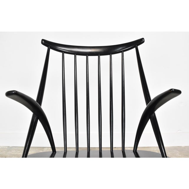 1950s Mid-Century Rocking Chair by Illum Wikkelso For Sale - Image 5 of 13