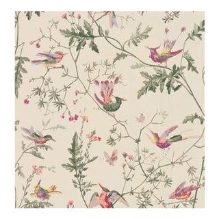 Cole & Son Hummingbirds Wallpaper Roll - Original Multi-Colour For Sale