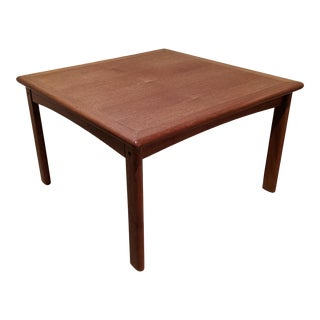 Danish Modern Teak End Table For Sale