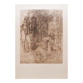 1959 Hans Von Marées, Large Hungarian Print For Sale