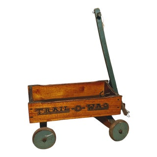 1920s Mengel Playthings Trail O Wag Wagon For Sale