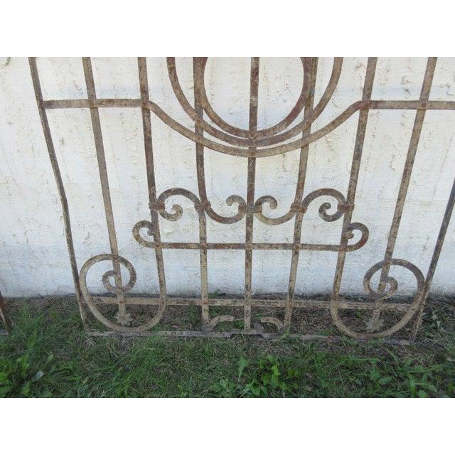 Antique Victorian Iron Gate Door For Sale - Image 4 of 7