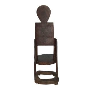 African Makonde Chair Tanzania