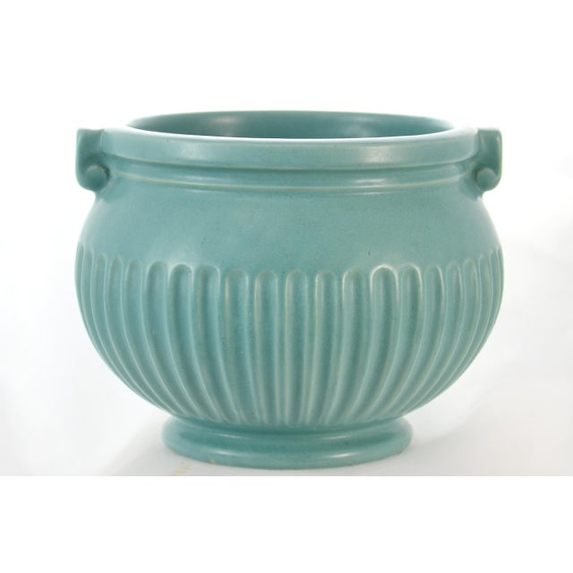 Aqua Fluted Catchall For Sale In Chicago - Image 6 of 6