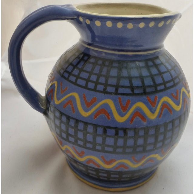 Mid-Century Italian Pottery Pitcher - Image 4 of 8