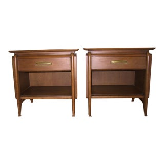 Drexel Projection Nightstands - a Pair For Sale