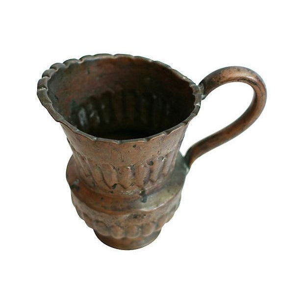 Egyptian Copper Vase - Image 3 of 5