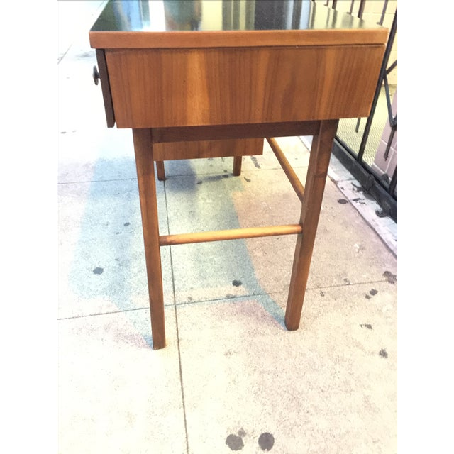 Mid Century Desk With Minimal Color Detailing - Image 7 of 7