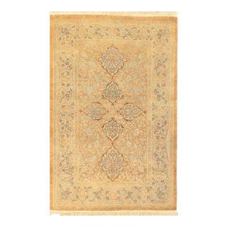 "Pasargad N Y Pak Persian Tabriz Design Lam'b Wool Rug - 2'8"" X 4'1"" For Sale"