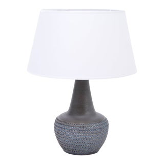 Mid-Century Danish Model 3048 Stoneware Table Lamp from Søholm, 1960s For Sale