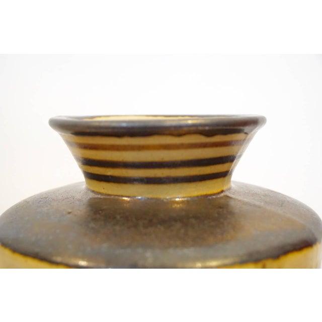 Early 20th Century Primavera Glazed Ceramic Vase For Sale - Image 5 of 9