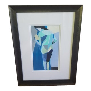 Cubist Female Figurative Painting For Sale