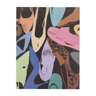 Andy Warhol, Diamond Dust Shoes, Offset Lithograph, 1999 For Sale
