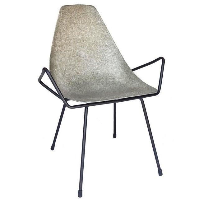 Unusual Sculptural Fiberglass Chair - Image 2 of 8