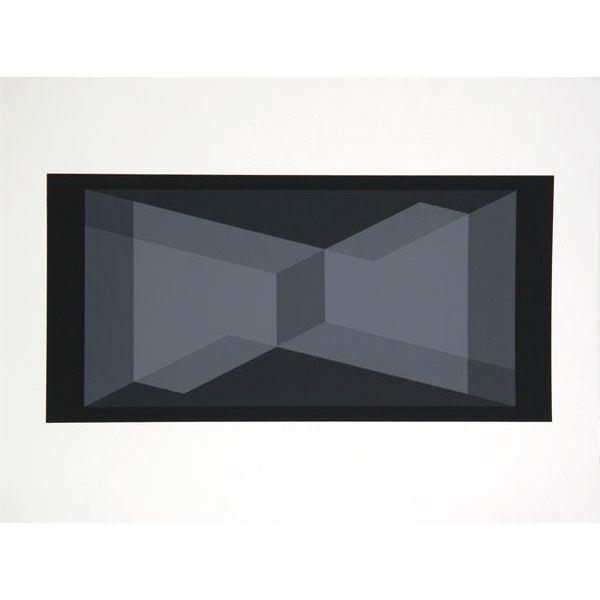 Abstract Expressionism Josef Albers - Portfolio 1, Folder 9, Image 2 Framed Silkscreen For Sale - Image 3 of 4