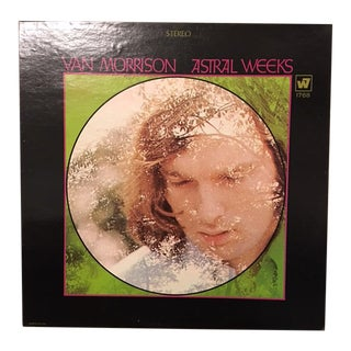 Van Morrison 'Astral Weeks' Autographed Album Cover For Sale