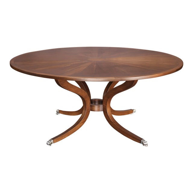 Round Dessin Fournir Dining Table or Center Table For Sale