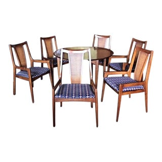 1960s Vintage Walnut Dining Set