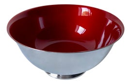 Image of Newly Made Red Bowls
