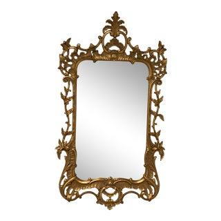 Vintage Italian Gilt Wall Mirror For Sale