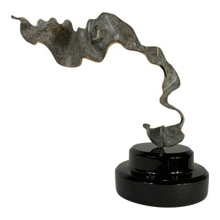 "Mid 20th Century ""Rapture"" Bronze Sculpture by James LaCasse For Sale"