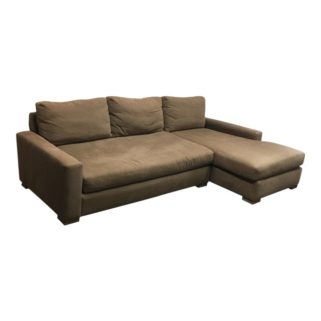 Restoration Hardware Maxwell Sectional - Image 1 of 6