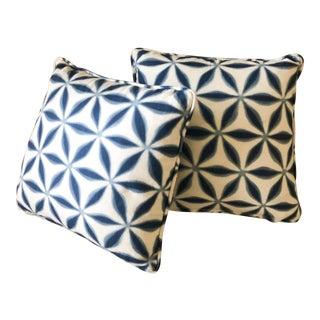 Jasper Throw Pillows - a Pair For Sale