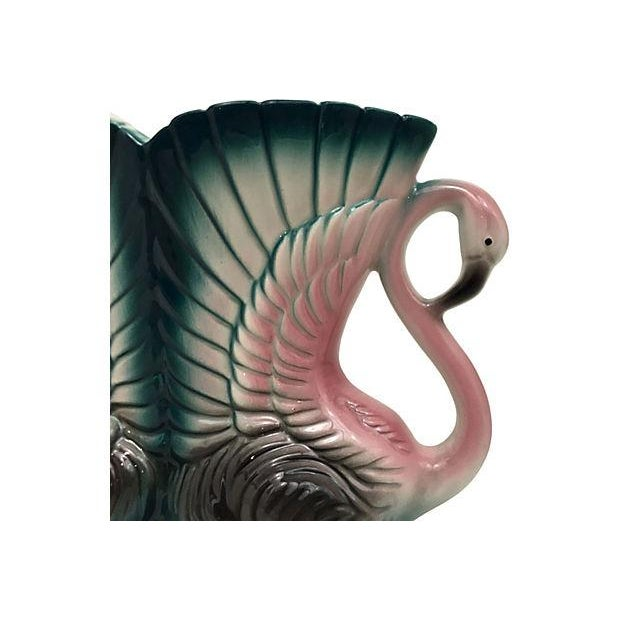 Double Flamingo Vanity Vase - Image 4 of 6