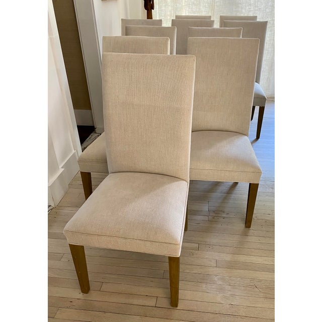 Restoration Hardware Restoration Hardware Hudson Chairs, S/10 For Sale - Image 4 of 9