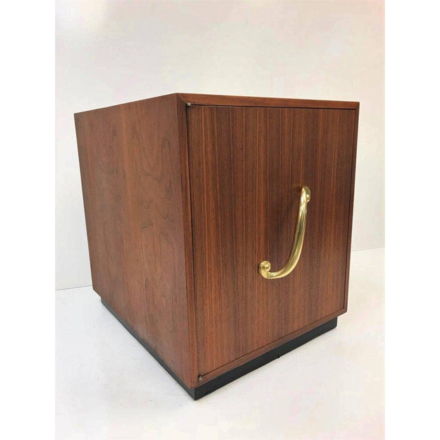 Hollywood Regency Pair of James Mont Cabinets or Nightstands For Sale - Image 3 of 7