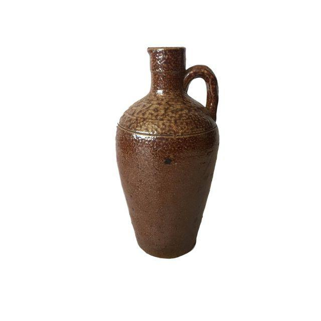 """This is a very cool small ceramic vase from Portugal. It stands at 8.5"""" tall and is in excellent condition for its age and..."""