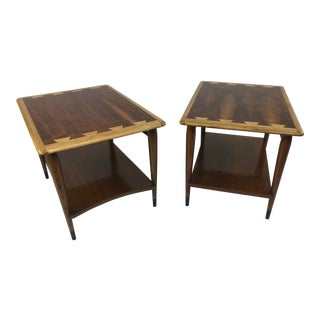 "Mid Century Modern Lane ""Acclaim"" Side Tables - a Pair For Sale"