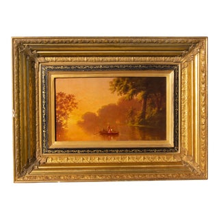 Luminist Hudson River School Painting For Sale