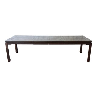 Mario Buatta for John Widdicomb Chinoiserie Dining Table For Sale