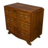 Image of French 1940s Walnut Chest of Drawers For Sale