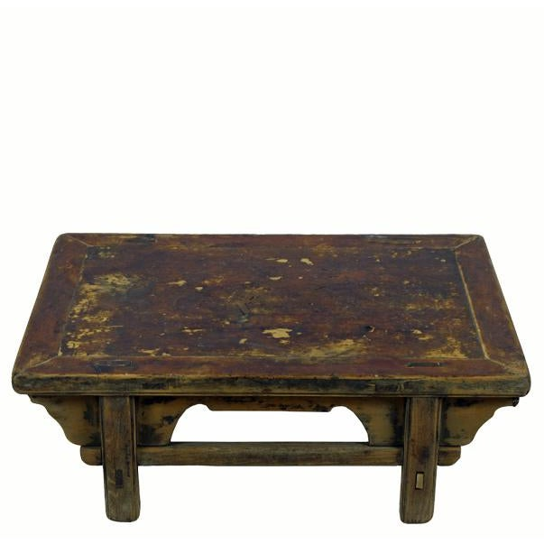 Reclaimed Wood Shandong Accent Table For Sale In Boston - Image 6 of 6
