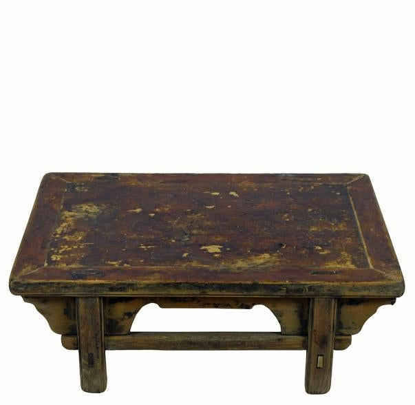 Superbe Reclaimed Wood Shandong Accent Table For Sale In Boston   Image 6 Of 6