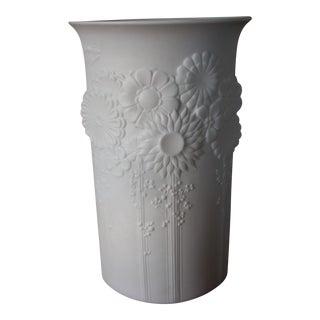 Kaiser Bisque Porcelain Vase For Sale