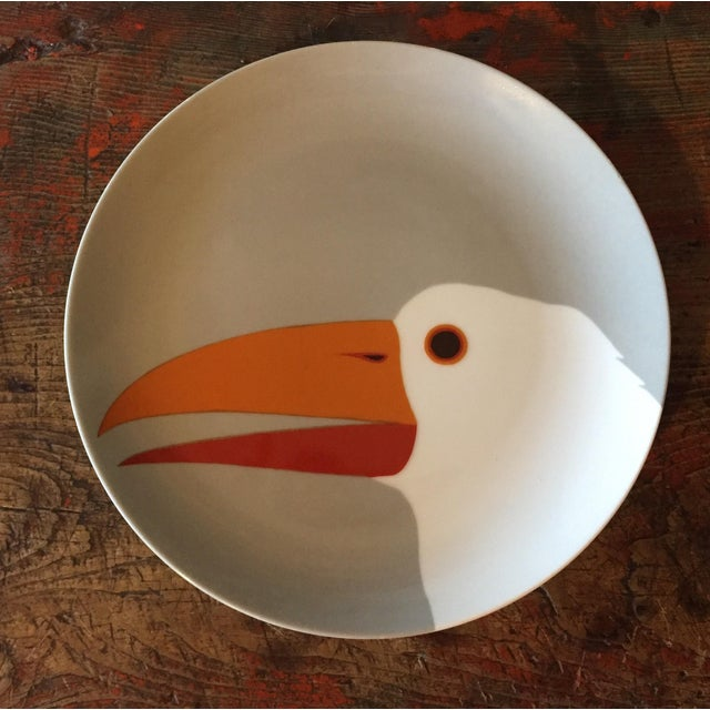 Fitz & Floyd for Neiman Marcus Bird Plates - Set of 3 For Sale - Image 4 of 7