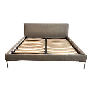 European King B&b Italia Antonio Citterio Charles Bed Frame For Sale