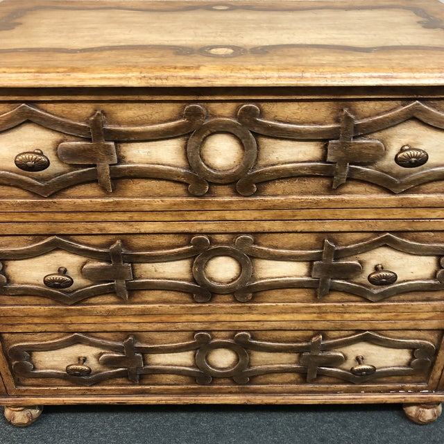2010s New Piedmonte Commode by Panache For Sale - Image 5 of 12