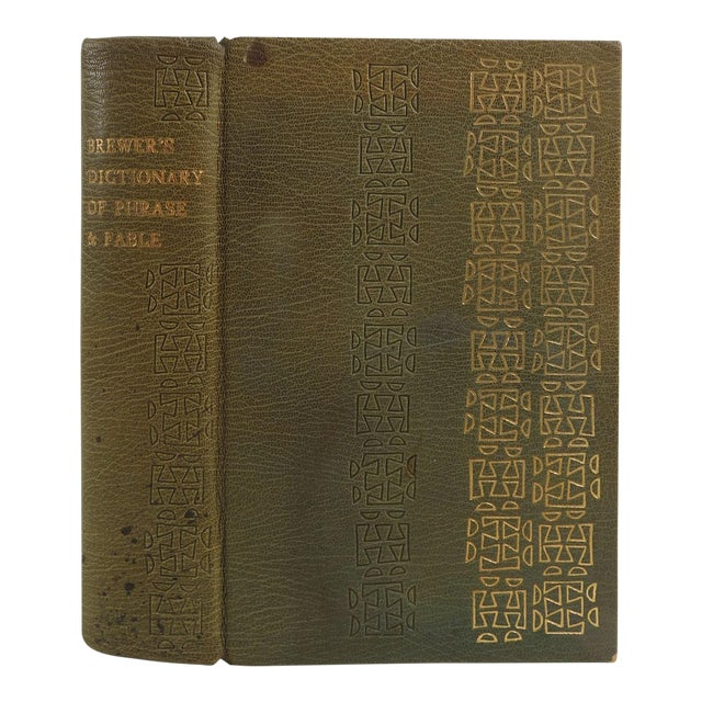 Brewer's Dictionary of Phrase and Fable Book For Sale