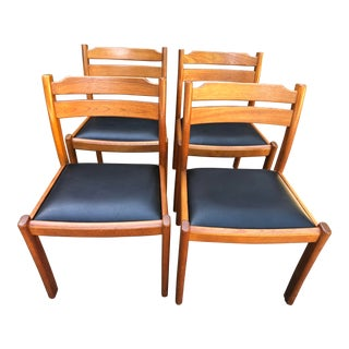 Dyrlund of Denmark Teak Dining Chairs - Set of 4 For Sale