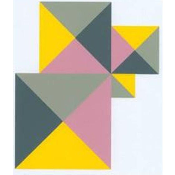 1997 Abstract Serigraph by Anton Stankowski, Limited Edition - Image 2 of 3