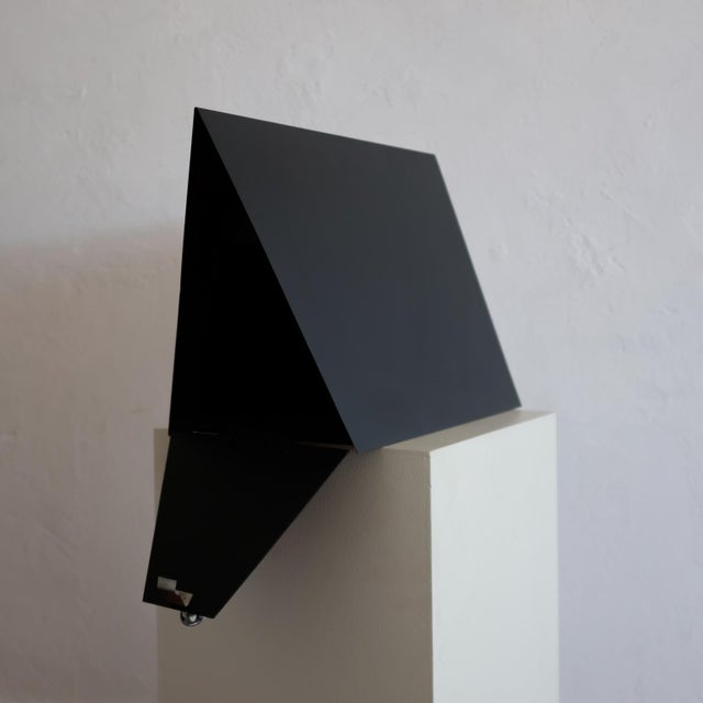 Black A-Frame Architectural Mailbox, 1950s For Sale - Image 8 of 13